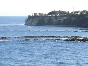 聖域の岬から見た海2